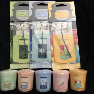 Yankee candle car and votive bundle
